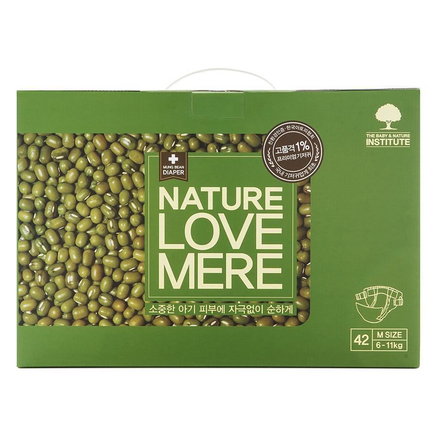 Подгузники Nature Love Mere Premium DiaperM6-11кг, 42шт.