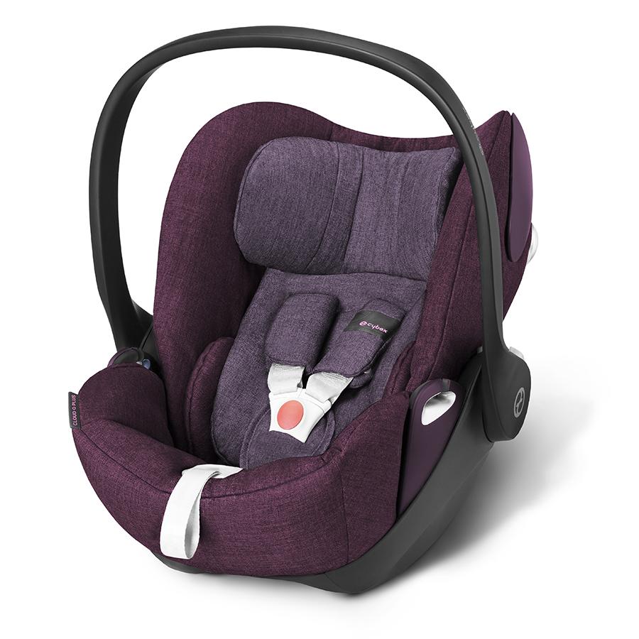 Кресло автомобильное Cybex Cloud Q Plus Grape JuiceАвтокресла 0+ (0-13 кг)<br><br>
