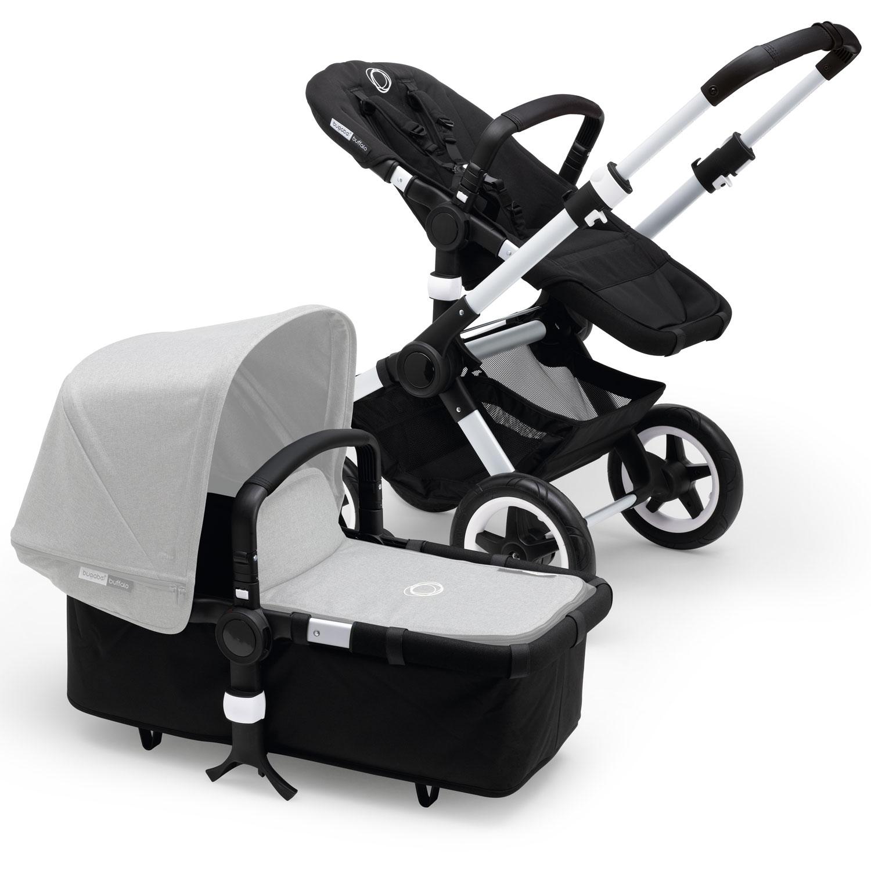 Коляска Bugaboo Buffalo+ base шасси Alu/Black 2в1Коляски для новорожденных<br><br>