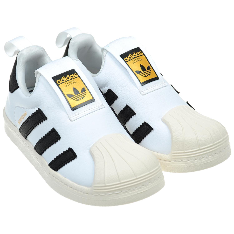 Слипоны Adidas для мальчиков