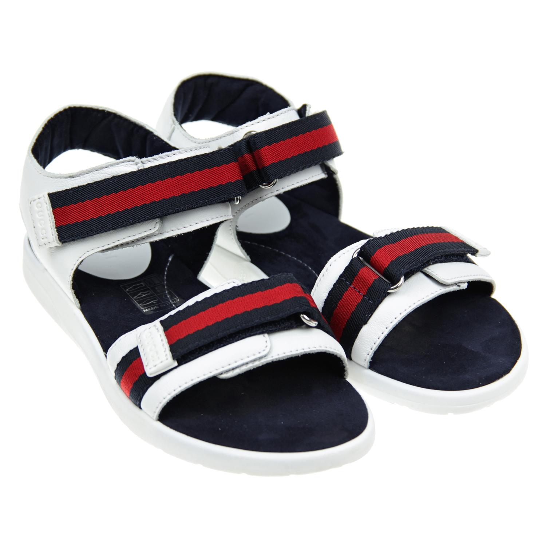 Купить Кожаные сандалии, GUCCI