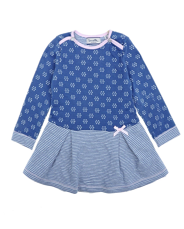 Купить Хлопковое платье с длинными рукавами, Sanetta fiftyseven