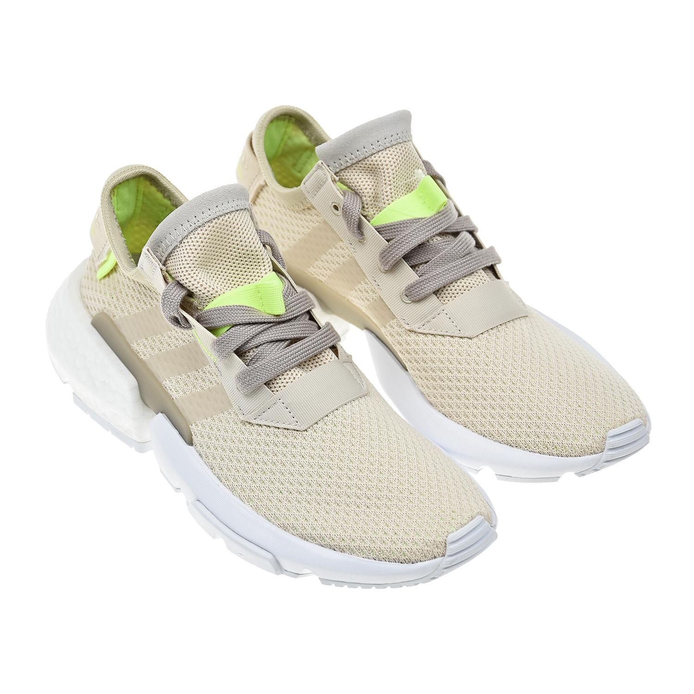 Купить Кроссовки Adidas детские, Бежевый, верх-текстиль, полимер.мат., подкладка-текстиль, подошва-полимер.мат.