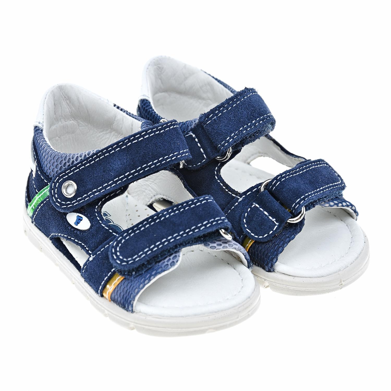 Купить Замшевые сандалии на липучках Falcotto
