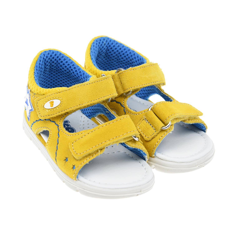 Купить Замшевые сандалии с контрастной подкладкой Falcotto