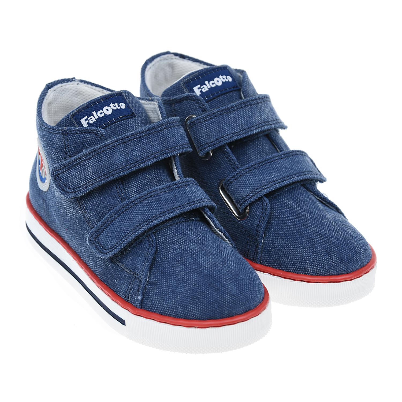 Купить Синие джинсовые кеды Falcotto