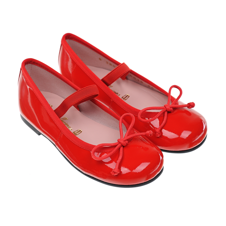 Лакированные туфли с бантом Pretty Ballerinas детские фото