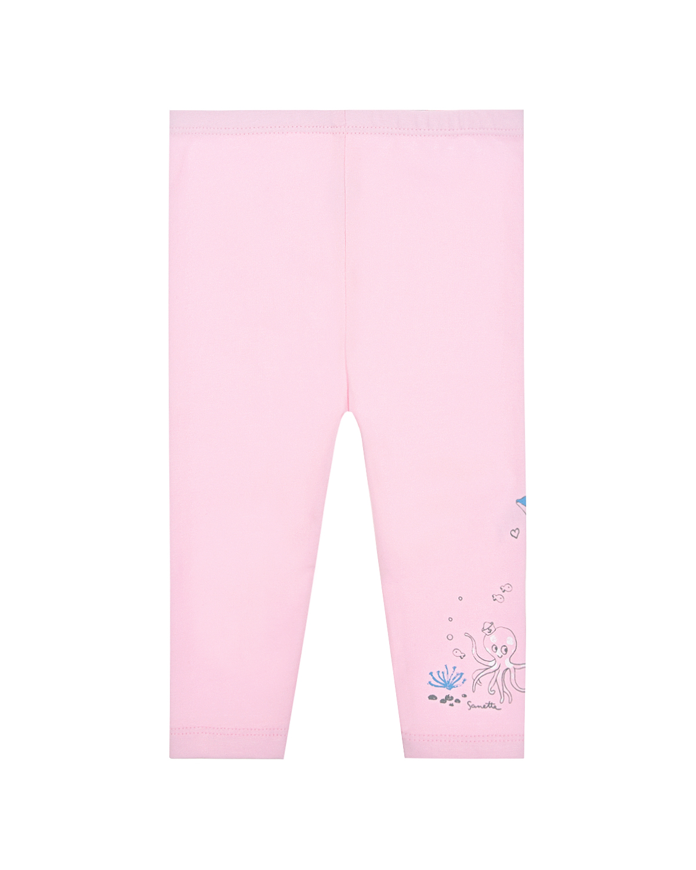 Купить Леггинсы Sanetta Kidswear детские, Розовый, 95%хлопок+5%эластан