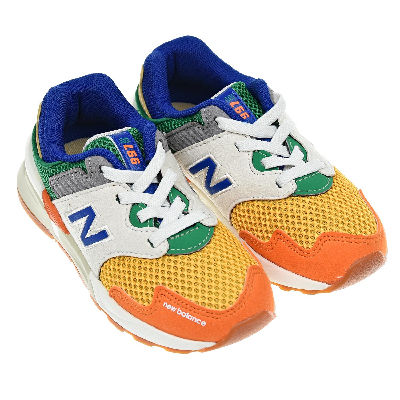 Текстильные кроссовки 997 Sport NEW BALANCE детские фото