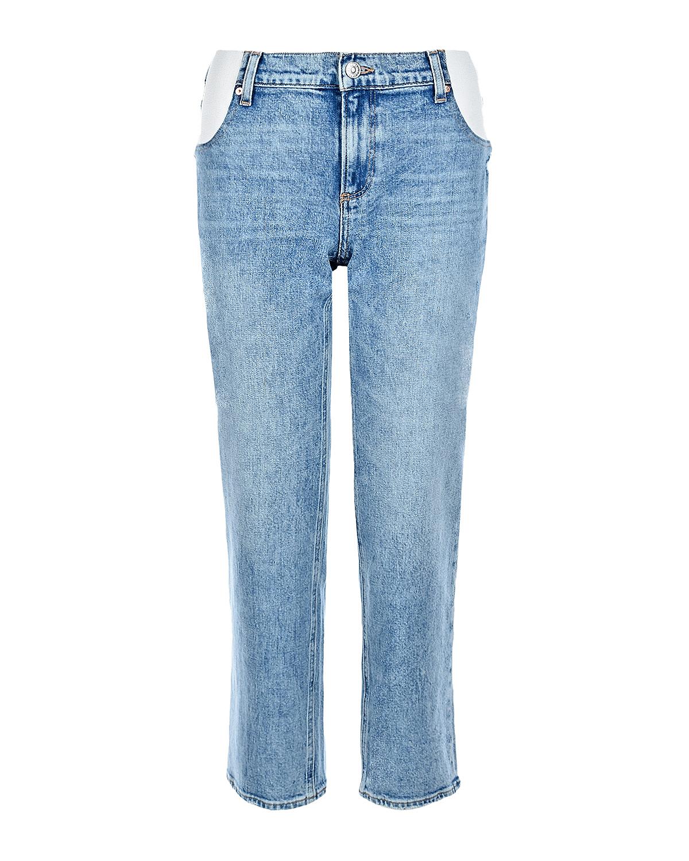 Купить Голубые джинсы для беременных Noella Straight Maternity Paige, Синий, 98%хлопок+2%эластан