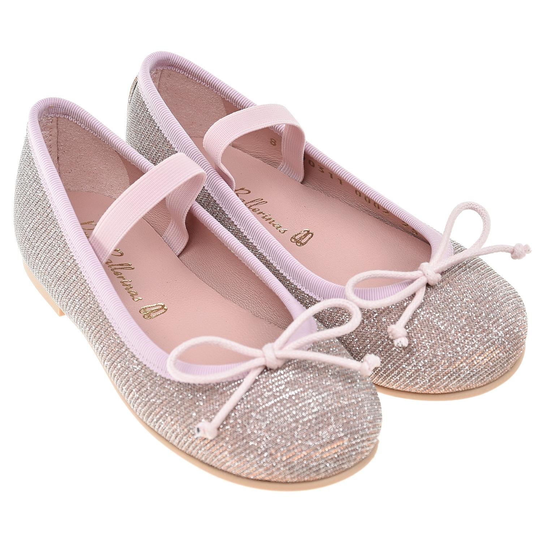 Туфли с эластичным ремешком Pretty Ballerinas детские фото