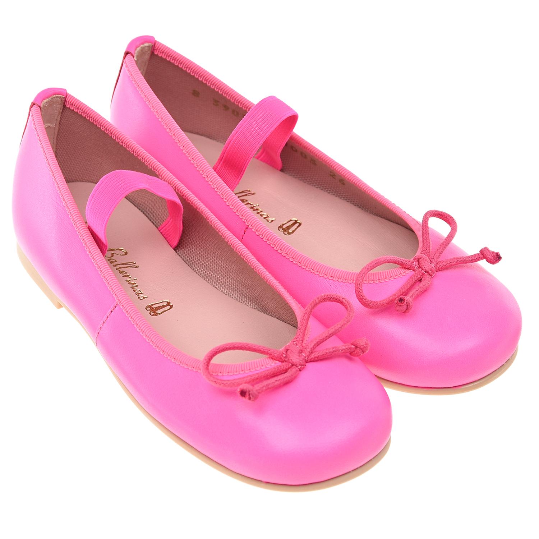 Туфли цвета фуксии Pretty Ballerinas детские фото