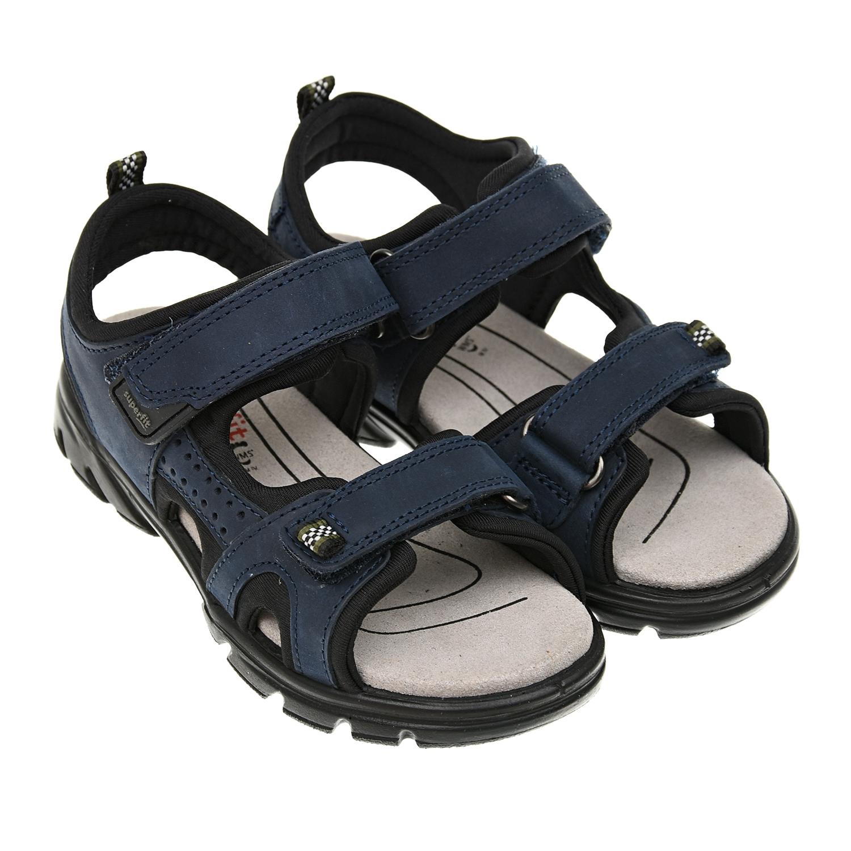 Черно-синие сандалии Scorpius SUPERFIT.