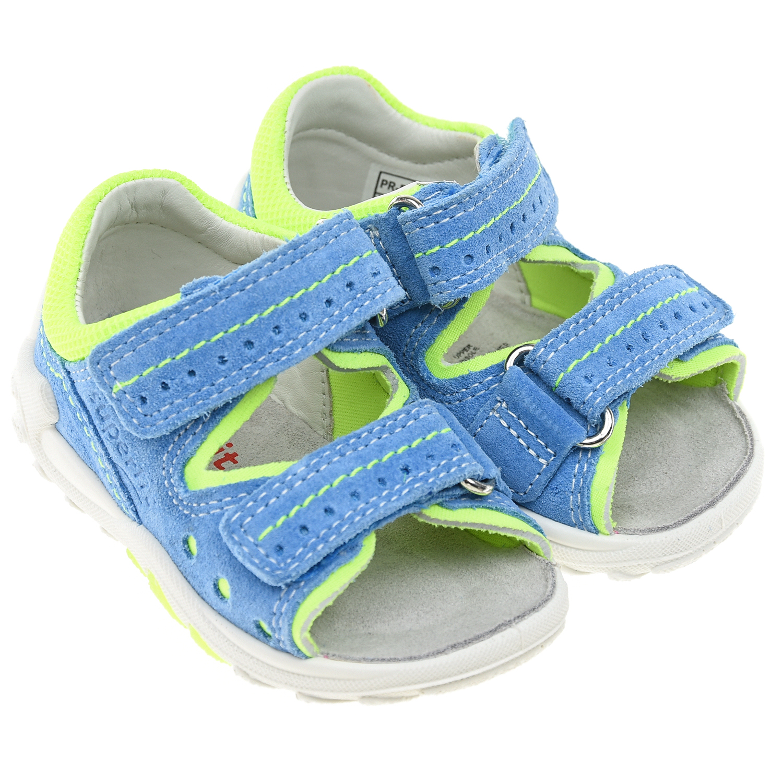 Голубые сандалии Flow SUPERFIT.