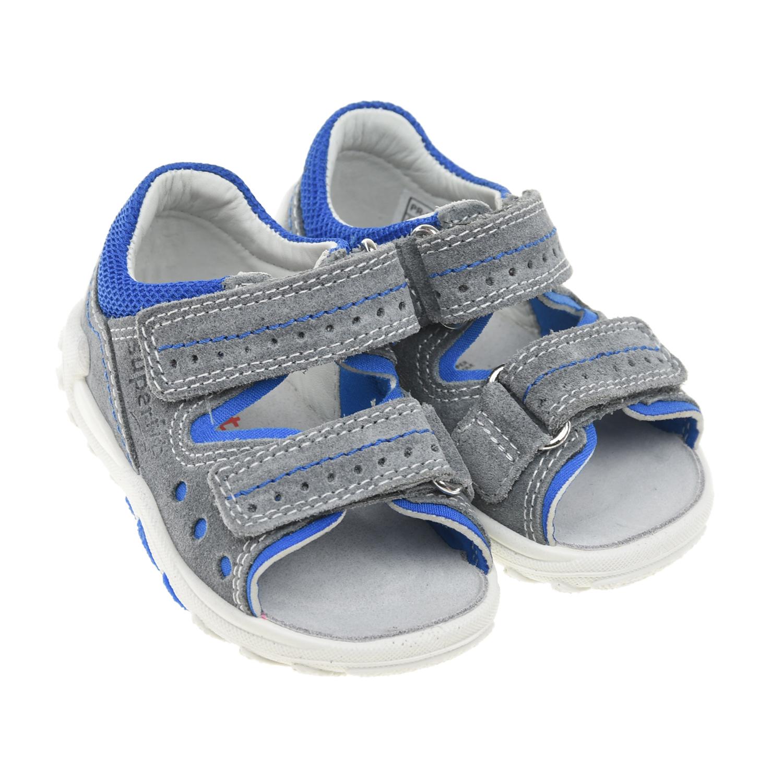 Серые сандалии Flow SUPERFIT детские фото