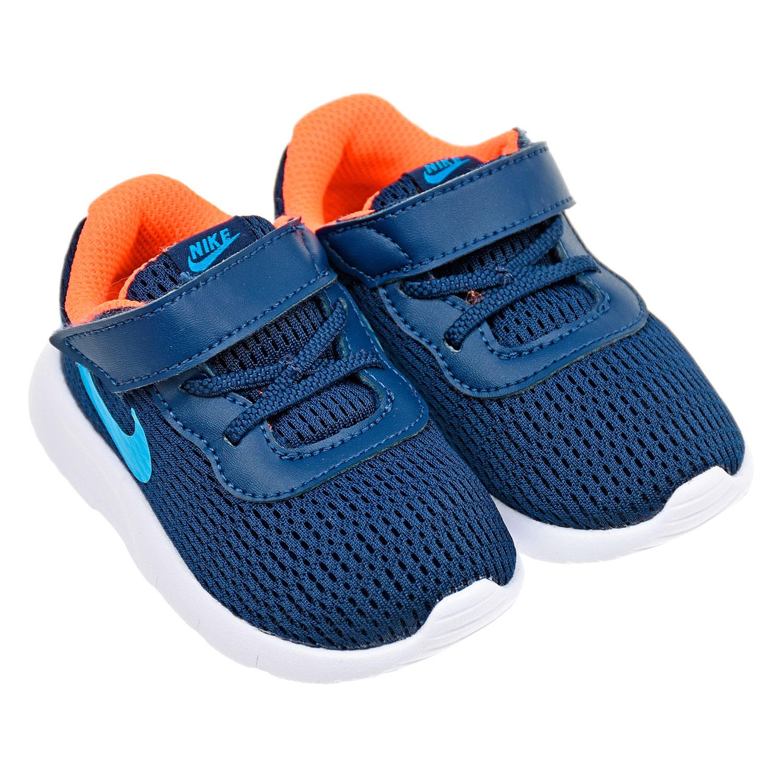 Кроссовки из текстиля на липучке Nike детские фото
