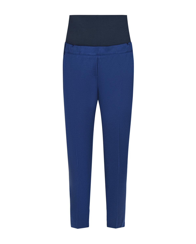 Синие брюки 7/8 для беременных Attesa синего цвета