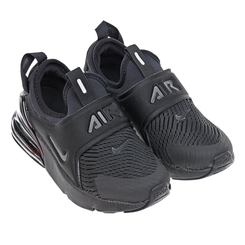 Купить Черные кроссовки Air Max 270 Extreme Nike детские, Черный, верх-91%текстиль+9%синт.кожа, подкладка-100%текстиль, подошва-80%резина+20%пластик