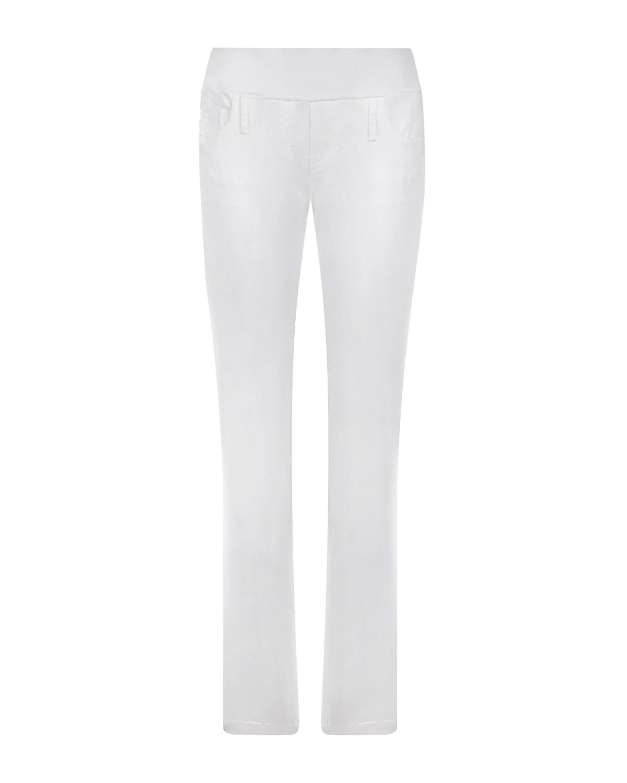 Купить Белые брюки skinny для беременных Pietro Brunelli, Белый, 70%хлопок+28%модал+2%эластан, 98%хлопок+2%эластан