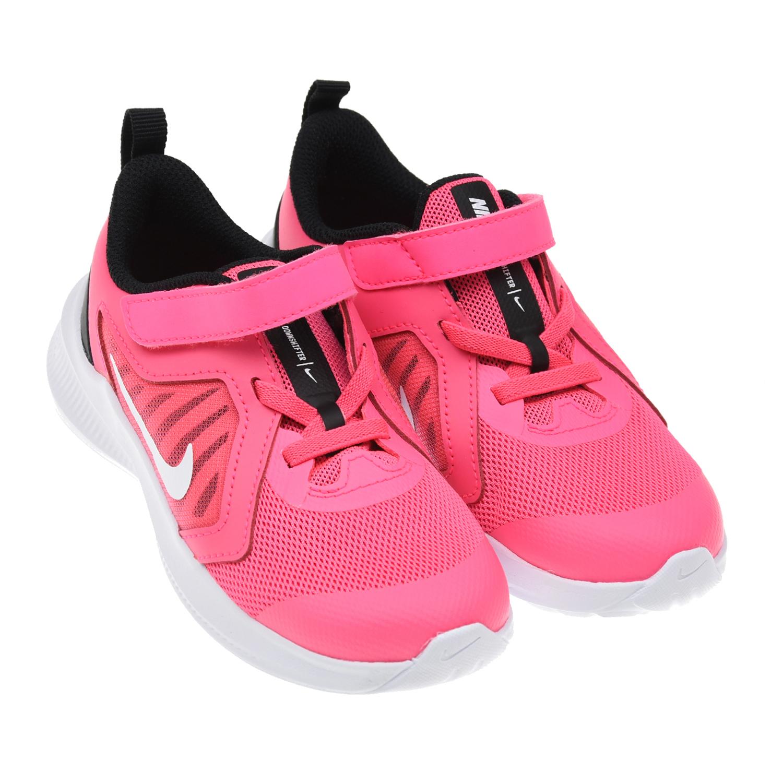 Купить Кроссовки Downshifter 10 цвета фуксии Nike детские, Нет цвета, верх-50%кожа+36%текстиль+14%синт. кожа, подкладка-100%текстиль, подошва-100%пластин