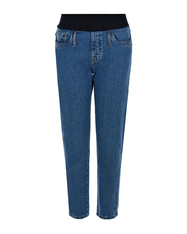 Купить Синие джинсы для беременных MUM JEANS Pietro Brunelli, Синий, 98%хлопок+2%эластан