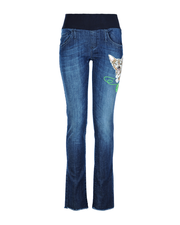 Брюки джинсовые для беременныхДжинсы<br><br>