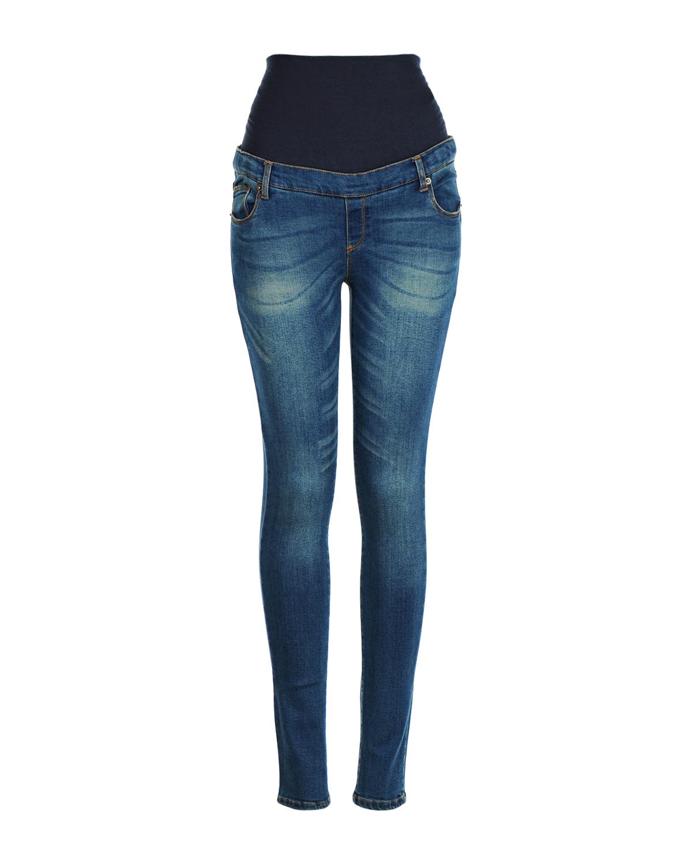 Брюки джинсовые для беременных AttesaЗауженные<br><br>