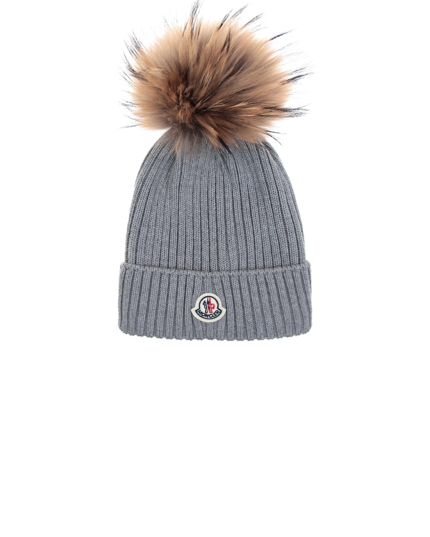 шерстяные шапка moncler для девочки