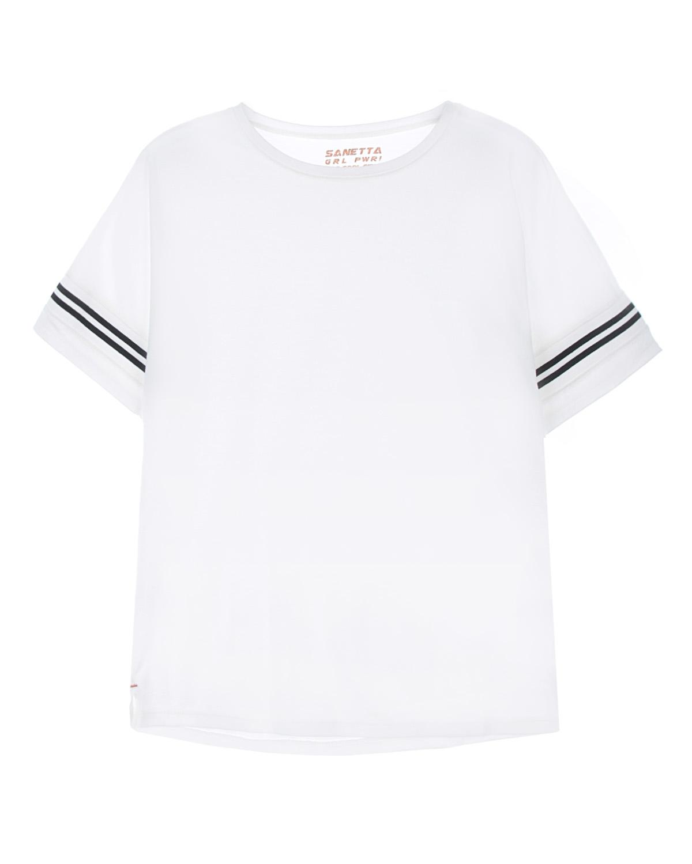 футболка sanetta для девочки