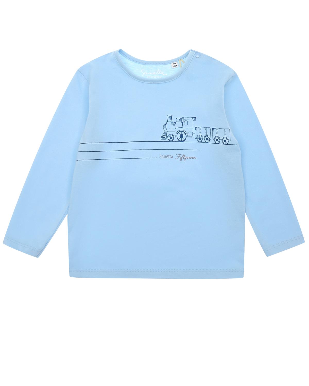 Купить Толстовка Sanetta fiftyseven детская, Голубой, 100%хлопок