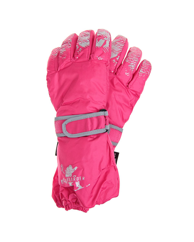 Непромокаемые перчаткиВарежки и перчатки<br>Непромокаемые перчатки MaxiMo цвета фуксии. Модель с эластичной вставкой и регулируемой липучкой на запястье.