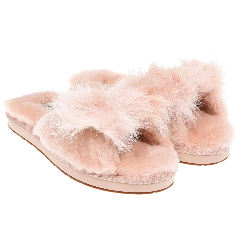 Купить Розовые меховые тапочки, UGG