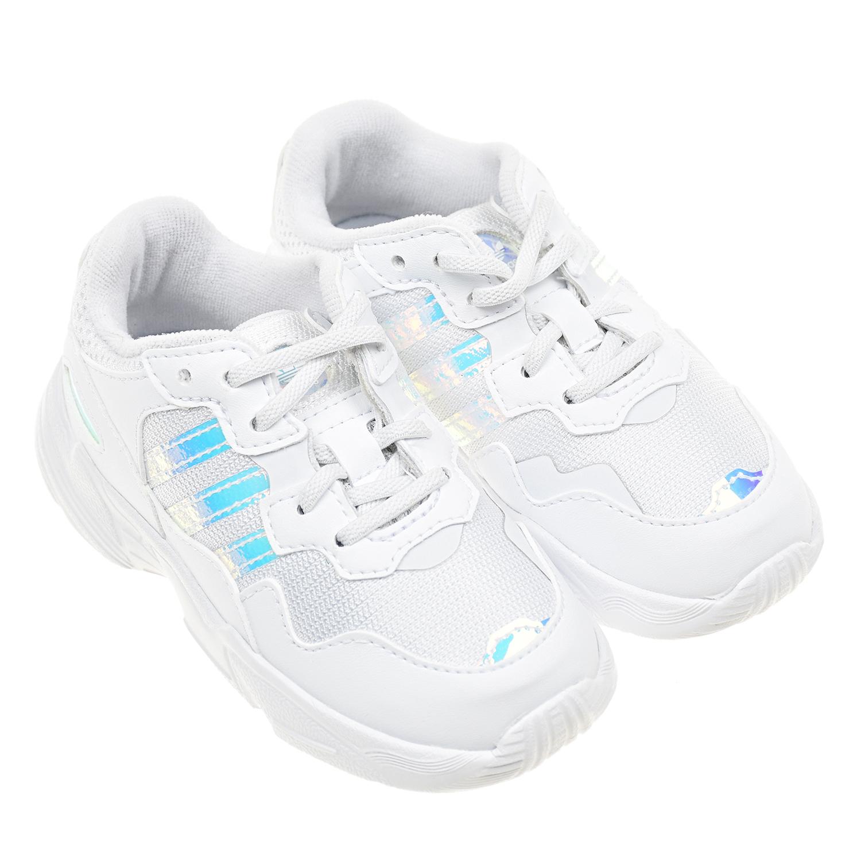 Купить Кроссовки Yung-96 Adidas детские, Белый, Верх:100%текстиль, 100%полим.мат, подкладка:100%текстиль, подошва:100%полимерные материалы