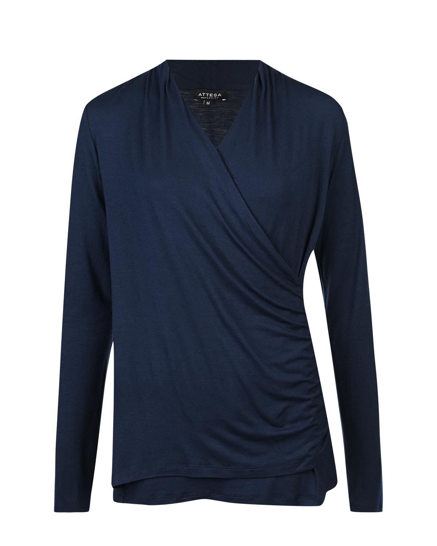 Синий блузон для кормления Attesa фото
