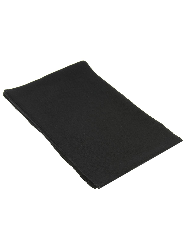 Купить Черный шарф из шерсти и кашемира Catya детский, Нет цвета, 70%шерсть+30%кашемир
