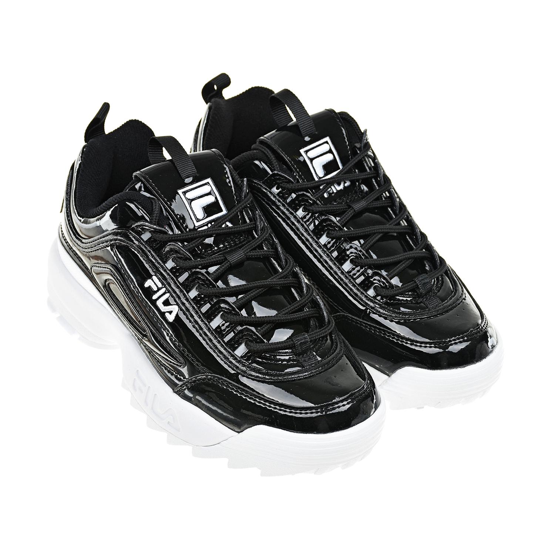 Черные кроссовки FILA DISRUPTOR II PREMIUM детские фото