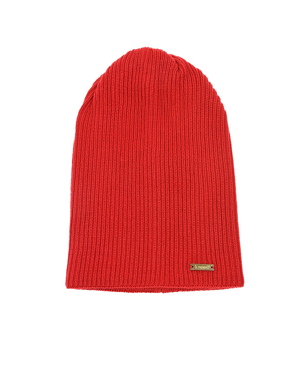 Купить Красная шапка из шерсти Il Trenino детская, Красный, 100%шерсть