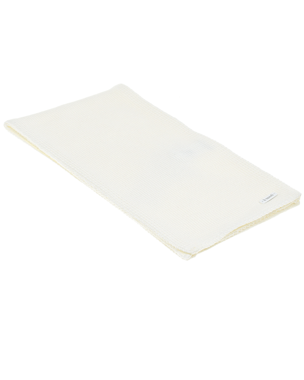 Купить Белый шарф из шерсти 140х19 см Il Trenino