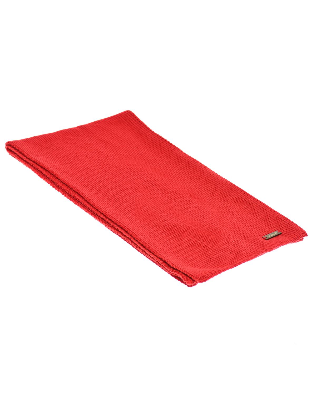 Купить Красный шарф из шерсти 140х19 см Il Trenino
