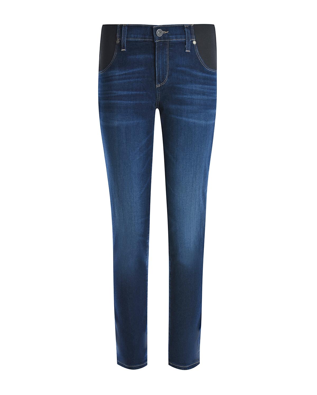 Синие джинсы для беременных Paige.