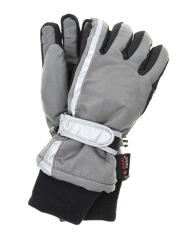 Непромокаемые перчатки со светоотражающей вставкой MaxiMo детские фото