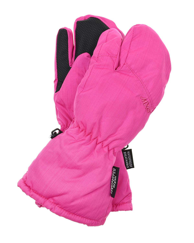 Розовые непромокаемые варежки MaxiMo детские фото