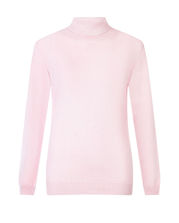 Купить Розовая водолазка из шерсти и кашемира с люрексом Arc-en-ciel, Розовый, 42%шерсть+28%вискоза+14%полиамид+9%лайкра+7%кашемир