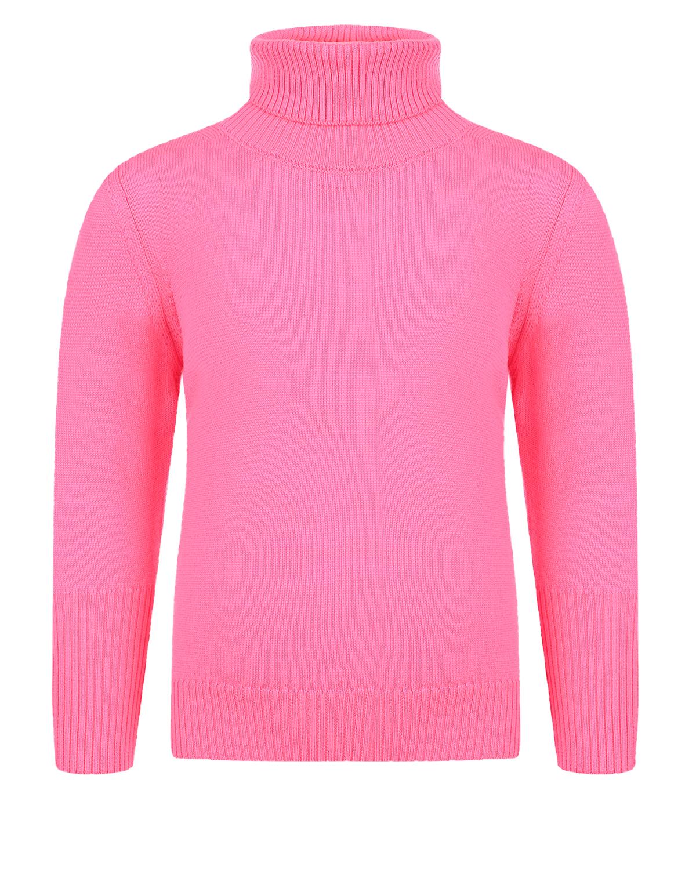 Купить Розовая водолазка из шерсти Arc-en-ciel детская, Нет цвета, 100%шерсть