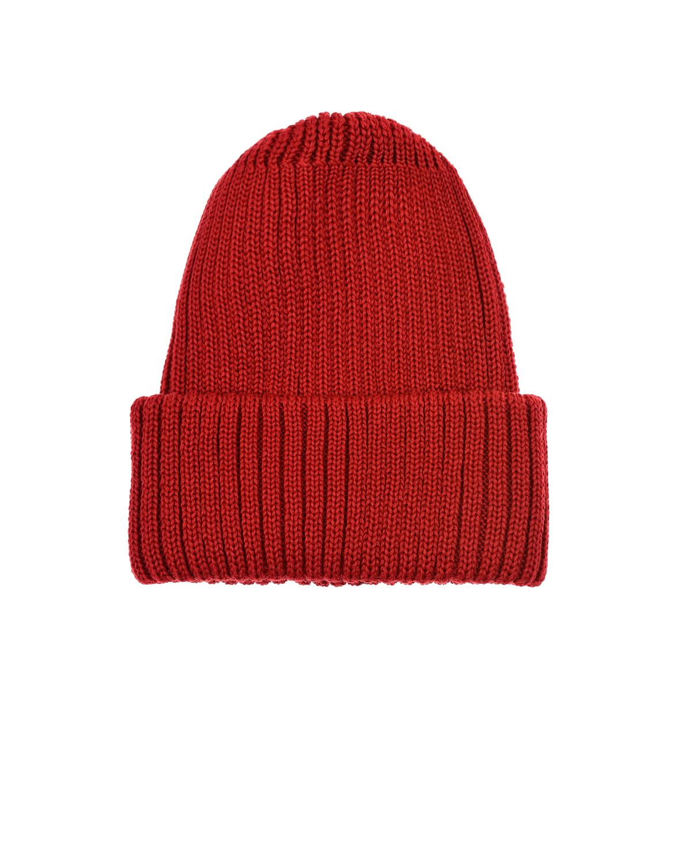 Купить Красная шапка из шерсти Catya детская, Красный, 100% шерсть
