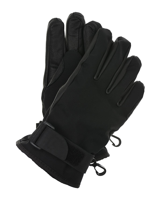 кожаные перчатки moncler для мальчика