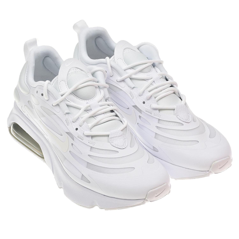 Купить Белые кроссовки Air Max Exosense Nike детские, Белый, верх:76%синтет.кожа+24%текстиль, подкладка:100%текстиль, подошва:100%резина