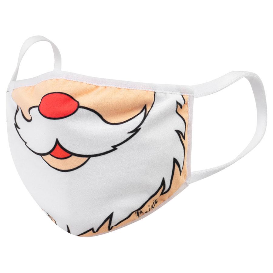 Купить Маска с фильтром, Усы Деда Мороза Prairie детская, Бежевый, 100%хлопок