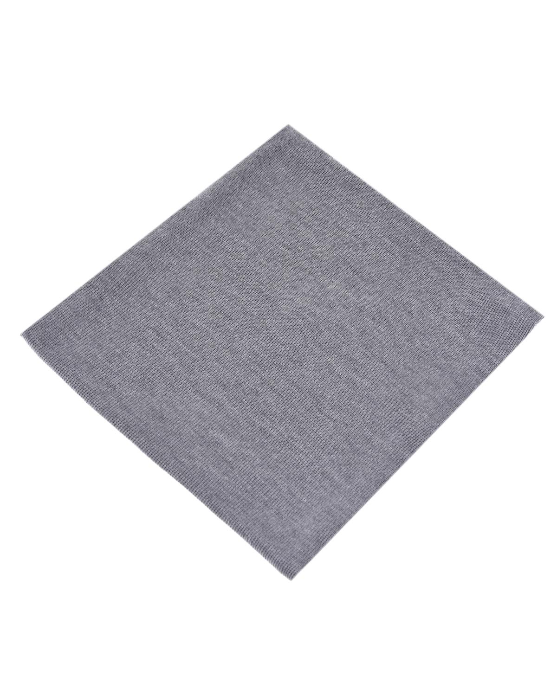 Серый базовый шарф Catya детский фото