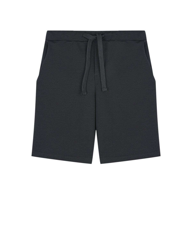 Купить Черные спортивные шорты Dan Maralex детские, Черный, 80%хлопок+14%полиэстер+6%лайкра